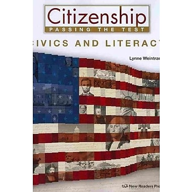 Civics and Literacy (Citizenship Passing the Test), New Book (9781564208880)