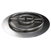 ETCO Stainless Steel Ring Burner Fire Pit