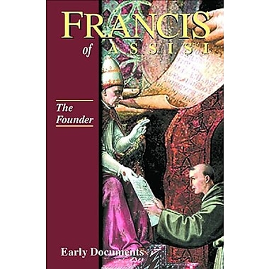 Francis of Assisi - The Founder: Early Documents, vol. 2 (Francis of Assisi: Early Documents), New Book (9781565481121)