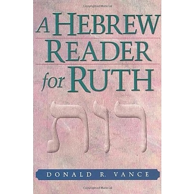 A Hebrew Reader for Ruth, Used Book (9781565637405)