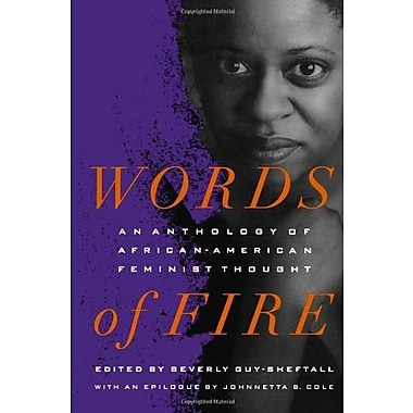 Words of Fire: An Anthology of African-American Feminist Thought Used Book (9781565842564)