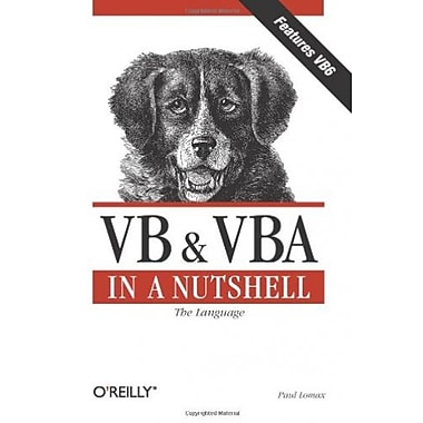 VB & VBA in a Nutshell: The Language Used Book (9781565923584)