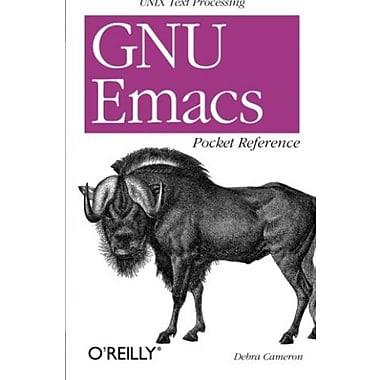 GNU Emacs Pocket Reference, New Book (9781565924963)