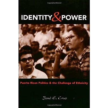 Identity And Power: Puerto Rican Politics and the Challenge of Ethnicity (Politics, Society; 27) (9781566396059)