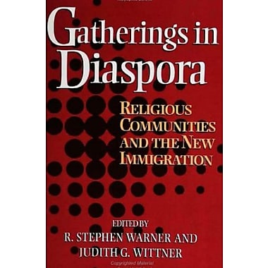 Gatherings In Diaspora: Religious Communities and the New Immigration, New Book (9781566396141)