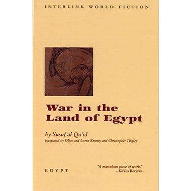 War in the Land of Egypt (Emerging Voices), New Book (9781566562270)
