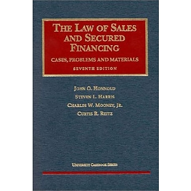 Honnold, Harris, Mooney and Reitz's Law of Sales and Secured Financing, 7th (9781566629485), New Book