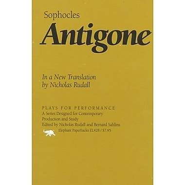 Antigone: In a New Translation by Nicholas Rudall (Plays for Performance Series), New Book (9781566632102)