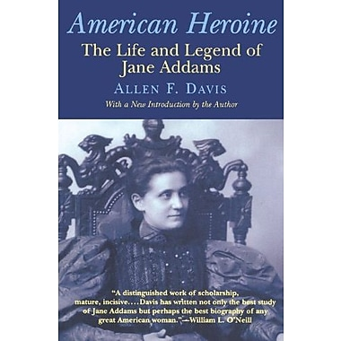 American Heroine: The Life and Legend of Jane Addams, New Book (9781566632966)