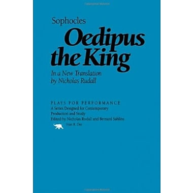 Oedipus the King (Plays for Performance Series), New Book (9781566633086)