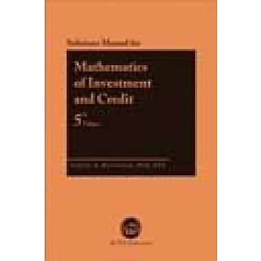 MATHEMATICS OF INVESTMENT...-S (9781566987684)