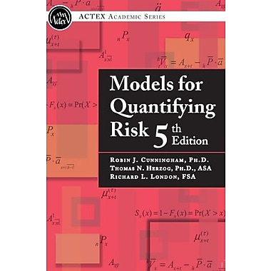 Models for Quantifying Risk, 5th Edition (9781566989336)