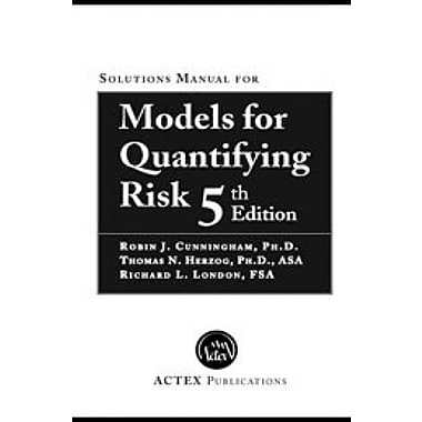 Models for Quantifying Risk, Used Book (9781566989343)