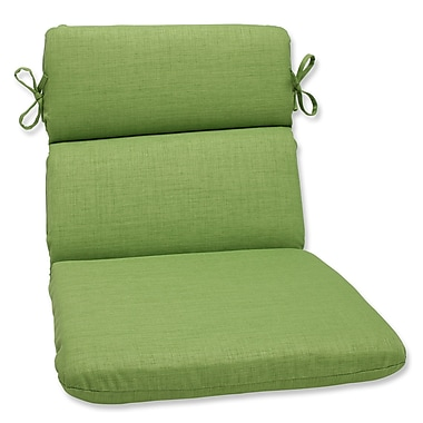 Pillow Perfect Outdoor Chaise Lounge Cushion; Crisp Green