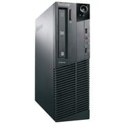 Lenovo-Ordinateur de table (M81 SFF) remis à neuf, Intel Core i3-2100(3,1 GHz), RAM 4 Go, DD 500 Go, DVD-RW, Windows 10 Pro