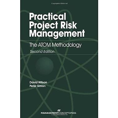 Practical Risk Management: The ATOM Methodology, Second Edition, New Book (9781567263664)