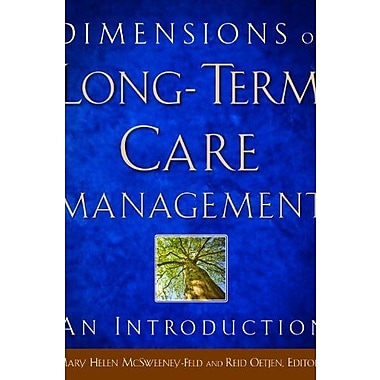 Dimensions of Long-Term Care Management: An Introduction, New Book (9781567933833)