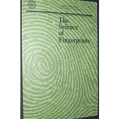 The Science of Fingerprints: Classification and Uses, Used Book (9781568068398)