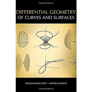 Differential Geometry of Curves and Surfaces, New Book (9781568814568)