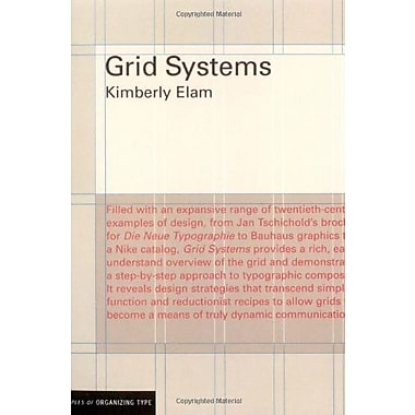 Grid Systems: Principles of Organizing Type (Design Briefs), New Book (9781568984650)
