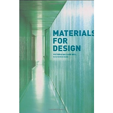 Materials for Design, New Book (9781568985589)