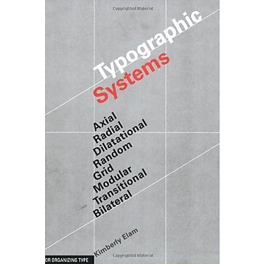 Typographic Systems of Design, Used Book (9781568986876)