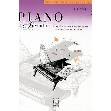 Piano Adventures Technique & Artistry Book, Level 3B, New Book (9781569392256)