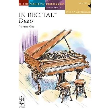 In Recital Duets, Volume One Book 4 with CD, Used Book (9781569395189)