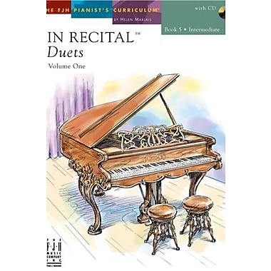 In Recital Duets, Volume One Book 5, Used Book (9781569395196)