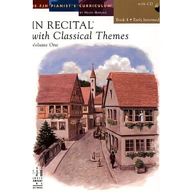 In Recital with Classical Themes, Volume One, Book 4 With CD, New Book (9781569396537)