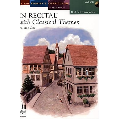 In Recital with Classical Themes, Volume One, Book 5, New Book (9781569396544)