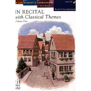 In Recital with Classical Themes, Volume One Book 6, Used Book (9781569396551)