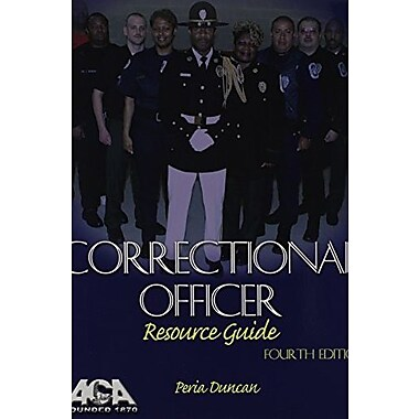 Correctional Officer Resource Guide, Used Book (9781569912720)
