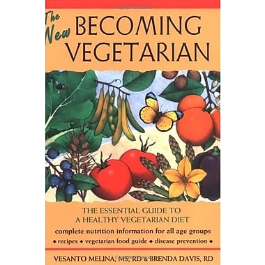 The New Becoming Vegetarian: The Essential Guide To A Healthy Vegetarian Diet Used Book (9781570671449)