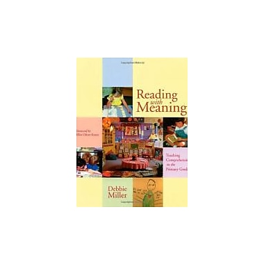 Reading with Meaning: Teaching Comprehension in the Primary Grades, Used Book (9781571103079)