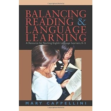 Balancing Reading and Language Learning: A Resource for Teaching English Language Learners, K-5, Used Book (9781571103673)