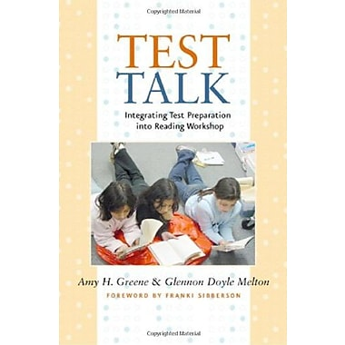 Test Talk: Integrating Test Preparation into Reading Workshop, Used Book (9781571104618)