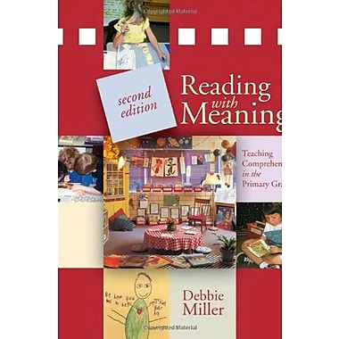 Reading with Meaning, 2nd edition: Teaching Comprehension in the Primary Grades, New Book (9781571109552)