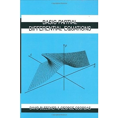 Basic Partial Differential Equations, New Book (9781571460363)