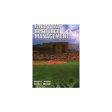 Financial Resource Management: Sport, Tourism, and Leisure Services, New Book (9781571675576)