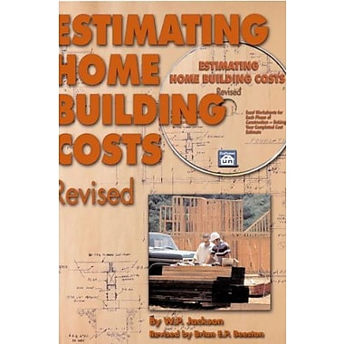 Estimating Home Building Costs Revised, Used Book (9781572182059)