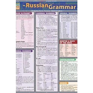 Russian Grammar (Quickstudy: Academic), New Book (9781572226982)