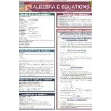 Algebraic Equations, Used Book (9781572227217)