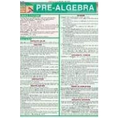 Pre-Algebra (Quickstudy: Academic), New Book (9781572227262)