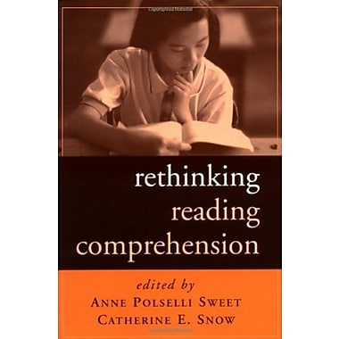 Rethinking Reading Comprehension (Solving Problems in the Teaching of Literacy), New Book (9781572308923)