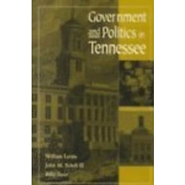 Government And Politics In Tennessee, Used Book (9781572331419)