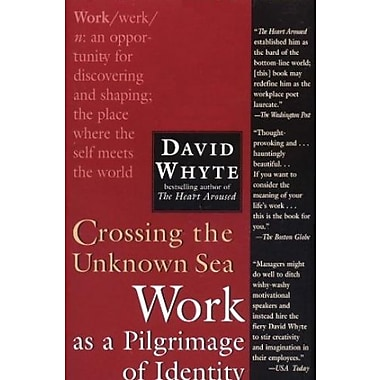 Crossing the Unknown Sea: Work as a Pilgrimage of Identity Used Book (9781573229142)