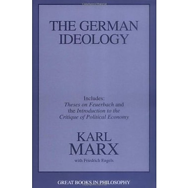 The German Ideology, including Theses on Feuerbach (Great Books in Philosophy), Used Book (9781573922586)