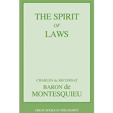 The Spirit of Laws, Used Book (9781573929493)