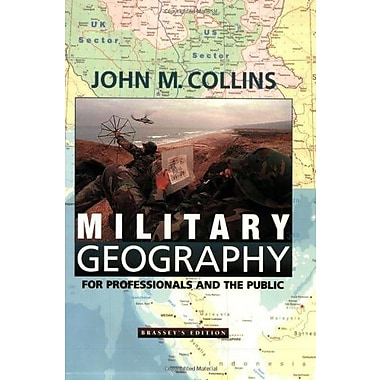 Military Geography: For Professionals and the Public, Used Book (9781574881806)